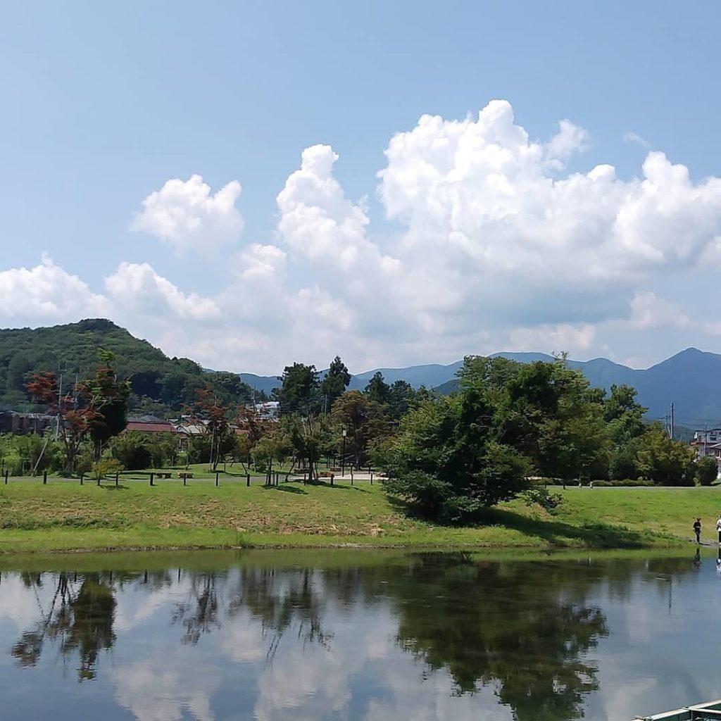 栃本親水公園(マルシェの裏)